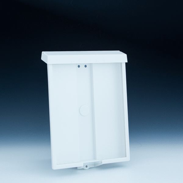 Outdoor Wall Mount Brochure Holder For 8 5x11 Literature
