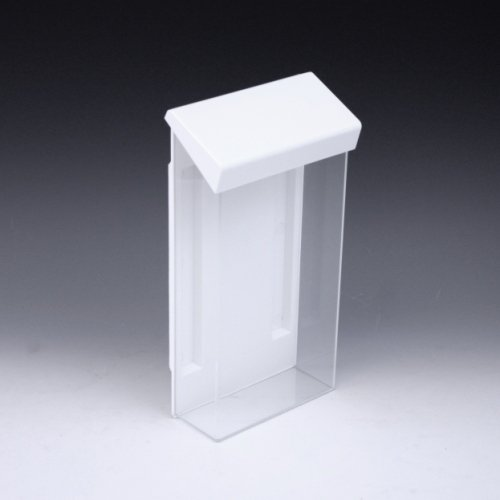 Clear Outdoor Brochure Holder For 4x9 Literature Tri Fold Holders